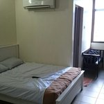 Bigger room with 1 double and 1single beds