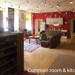 Common Room and Kitchen