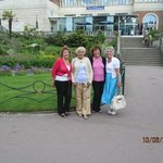 My 3 friends and I on our trip to Bournemouth