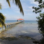 Foto van Hatchet Caye Resort