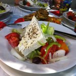 Excellent Greek salad for Lunch