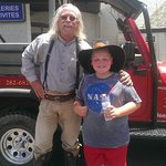 "tour guide ""wild bill"" and my son will"