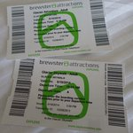 Attractions tickets.