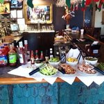 Bloody Mary bar at Sunday Brunch