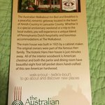 The Australian Walkabout Inn Bed & Breakfast resmi