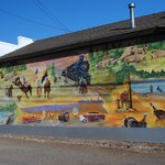 Mural in Williams, Az.