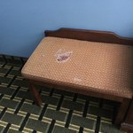 threadbare chair