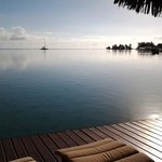 Early morning view from the Princess Lokelani private deck