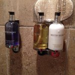 Complimentary toiletries.