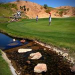 water features on the back nine of the Canyons