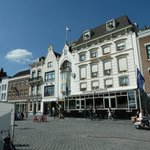 The hotel from the Markt