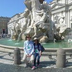 At Piazza Navona, 20 minutes' walk from the hotel