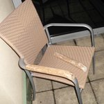 Balcony chair breakage