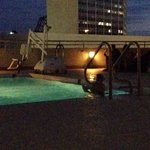 Night swimming pool on 4th floor