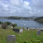 Abbey Cemetery overlooking the bay