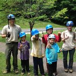 """We loved it!"" Saltpetre Kids Crawl with guides Rachael and Zac."