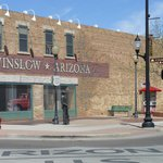 Corner of Winslow Arizona.