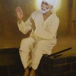 Pic. of Shree Sai Baba at the entrance