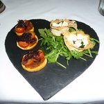 goats cheese tartlets