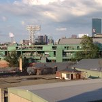 Picture of Fenway from the roof top Terrance