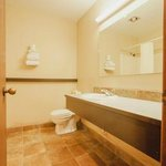 Full remodeled guest bathrooms with bath tub & shower