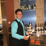 Our exceptionally patient bartender Thomas! Very polite and friendly