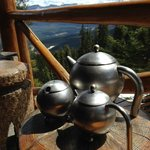 Tea Service and View