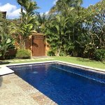 Private pool in our private villa!