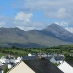Croagh Patrick view from our room