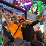 me and my friends in bangla road..