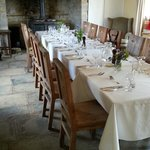 Dining room in the old farmhouse