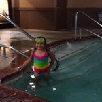 Indoor pool at Hampton Inn in Buda, Tx