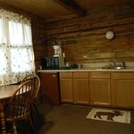 Log Cabin - Kitchen