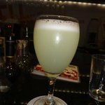 Pisco Sour at the bar
