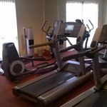 Fitness Room with Modern Equipment