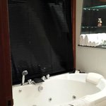 Couple jacuzzi bath in Deluxe room