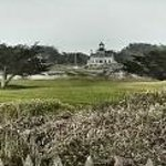 Lighthouse view from Beach (across golf course)