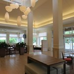 Bright, cheerful lobby