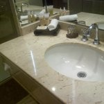 Bathroom with Roger & Gallet toiletries