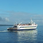 The ferry sailing to Orkney