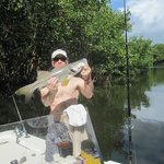 Even caught a nice Snook :)