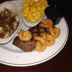 Ship to Shore with galley red potato mashers and gravy & Mac-N-Cheese