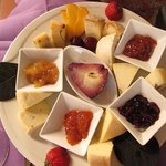 cheese and jams