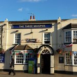 The Three Magpies Restaurant--Quaint English Pub