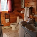 Only one washroom for the whole cottage