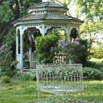 Gazebo and love seat