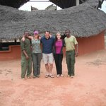 Ithumba camp with the delightful staff