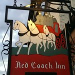 Red Coach Inn Sign