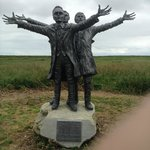 The Three SHORT Brothers Statue