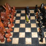 Chess anyone? We've got 3 sets ready to go 24/7!